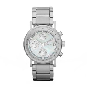 DKNY New DKNY Women'sSilver Tone Mother of Pearl Watch NY4331