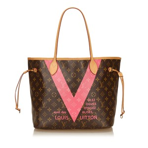 Louis Vuitton 6llvto009 Tote in Brown