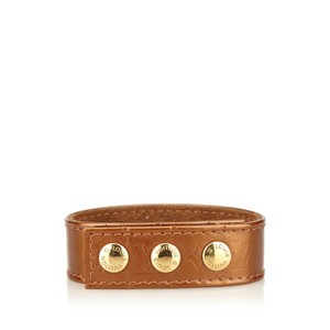 Louis Vuitton Louis Vuitton Leather VIP Snap Bracelet