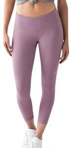 Lululemon lululemon dustry mauve wunder under crop size 10