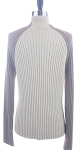 A|X Armani Exchange Ax Taupe Ribbed Large Size Sweater