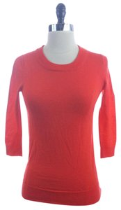 J.Crew Persimmon Merino Wool Lightweight Sweater
