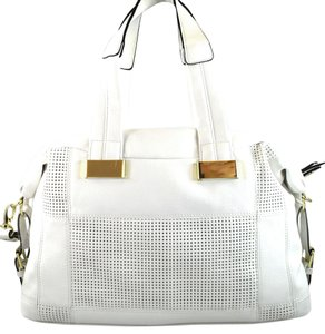 Steve Madden Satchel in White