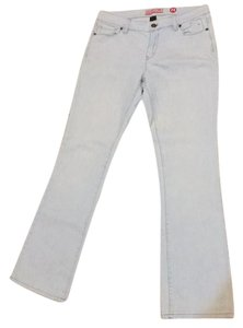 New York & Company Boot Cut Jeans-Light Wash