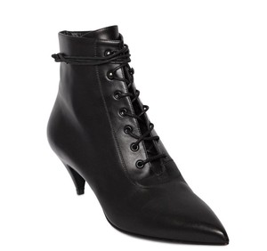 Saint Laurent Ankle Pointy Hills Ysl Black Boots