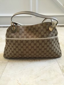 Gucci Tote Tote Canvas Shoulder Bag