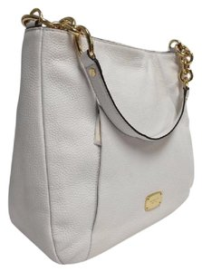 Michael Kors Hobo Leather Hallie Shoulder Bag