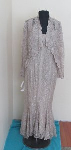 Damianou New Beige Damianou- Style 3165-med- Newbeige Mother Of Formal Cruise (dam-1s) Dress