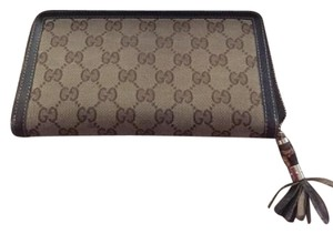 Gucci GUCCI WALLET WITH BAMBOO ZIP