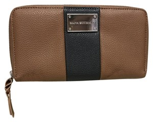 Dana Buchman Two Tone Leather Zip Wallet