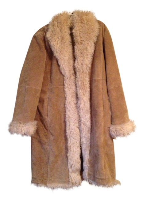 Wilsons Leather Fur Coat Image 0
