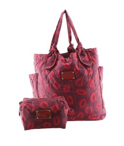 Marc by Marc Jacobs Nylon Tote in Purple,Red