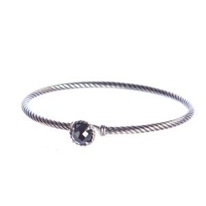 David Yurman Chatelaine Bracelet with Hematine 3mm Size Medium $325 NEW