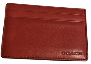Coach Leather ID/Card Holder