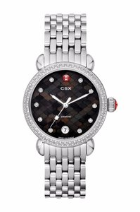 Michele NEW CSX-36 Diamond Dial Black Mosaic MWW03R000014 Limited Ladies Watch