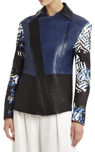 BCBGMAXAZRIA Black Combo Leather Jacket
