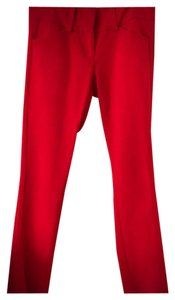 New York & Company Capri/Cropped Pants Red