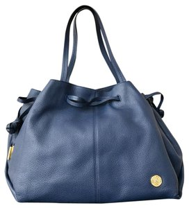 Vince Camuto Leather Nisha Tote in Blue