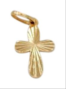 Other Vintage 18K Gold Cross Charm