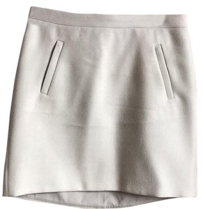 J.Crew Mini Skirt heather stone
