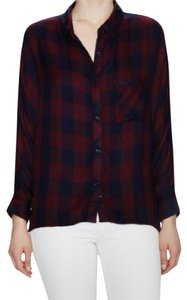 Rails Top Red/Navy