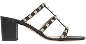 Valentino Rockstud Cage 60mm black Sandals