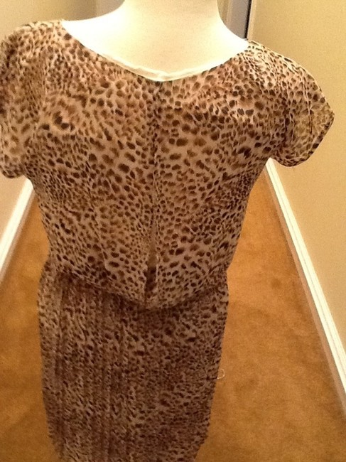 Gianni Bini short dress Leopard Print - Brown and whit on Tradesy