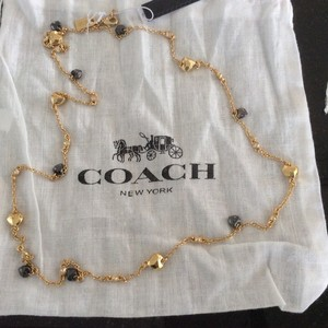 Coach COACH Faceted Heart Necklace