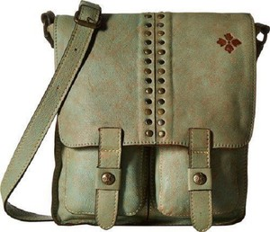 Patricia Nash Designs Messenger Leather Michael Kors Green Messenger Bag