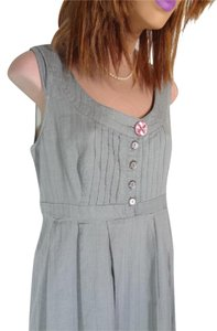 Fossil short dress GRAY COTTON Really Cute Comfortable Excel Clean Con Priced To Sell Quick Ship on Tradesy