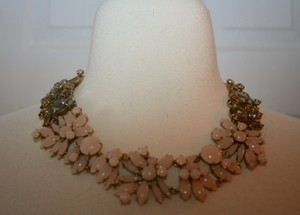 J.Crew J.CREW TWO-TONE FLORAL NECKLACE