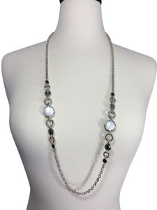 Ippolita Ippolita Sterling Silver, Mother of Pearl and Moonstone Necklace