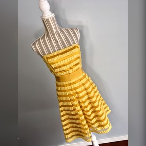 The Limited short dress Golden Yellow on Tradesy