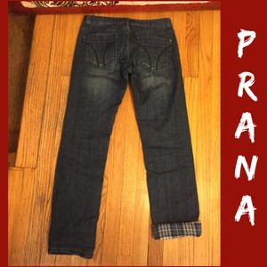 prAna Skinny Jeans-Medium Wash