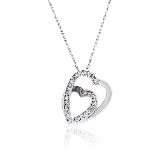 Preload https://img-static.tradesy.com/item/20907173/cartier-white-18k-gold-and-diamond-heart-slide-pendant-on-necklace-0-0-540-540.jpg