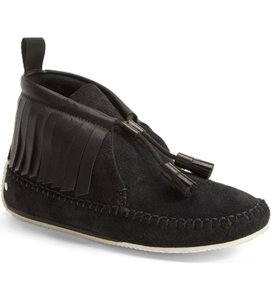 Rag & Bone And Moccasin Ankle Suede black Boots