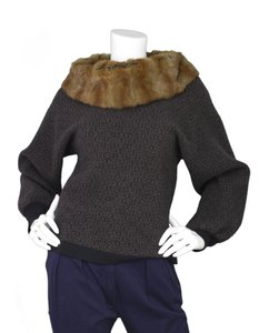 Louis Vuitton Lv Fur Print Sweater