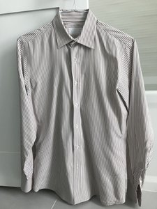 Prada Prada Men's Pinstripe Dress Shirt