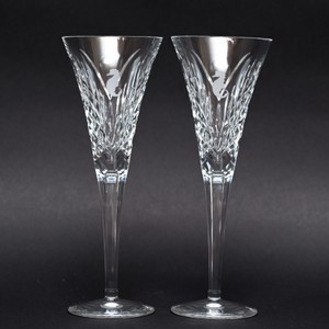 Waterford Holland America Cruiseline Ship Champagne Flutes Rare