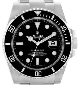 Rolex Rolex Submariner Ceramic Bezel Steel Mens Watch 116610 Unworn