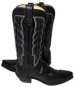 Lucchese Cowgirl 6.5 Cowgirl 6.5 Western 6.5 Black Boots