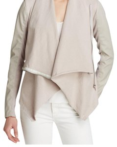 BlankNYC taupe Leather Jacket