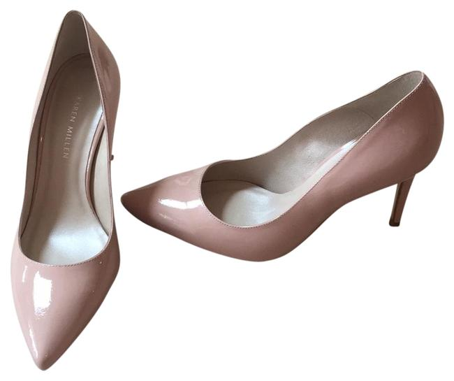 Item - Taupe Patent Leather Pumps Formal Shoes Size US 9 Regular (M, B)