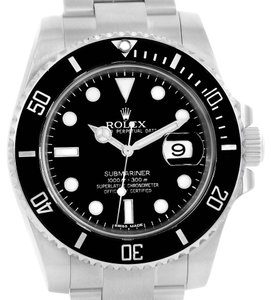 Rolex Rolex Submariner Ceramic Bezel Stainless Steel Mens Watch 116610