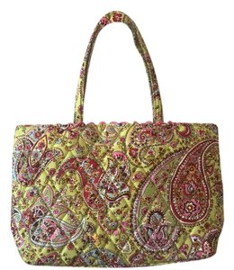 Vera Bradley Small Children Kid Tote in Pink and Green