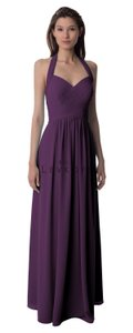 Bill Levkoff Plum Bridesmaid Dress Style 990 Dress