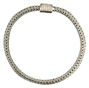 John Hardy John Hardy Classic Chain Bracelet with Diamonds