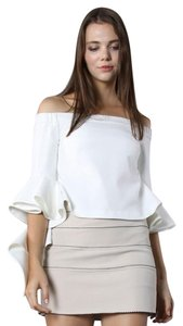 Chicwish Off-the-shoulder Spring Summer Top White