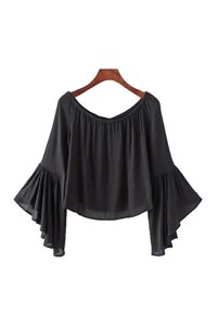 Goodnight Macaroon Summer Longsleeve Top Black