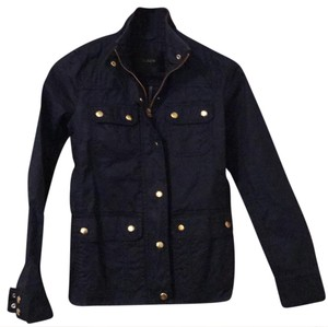 J.Crew Navy Blue with Gold Buttons Jacket